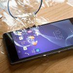 Sony Xperia водонепроницаемые модели смартфонов