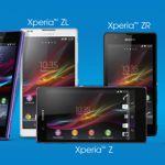 Sony Xperia серия Z – фото сравнение флагманов