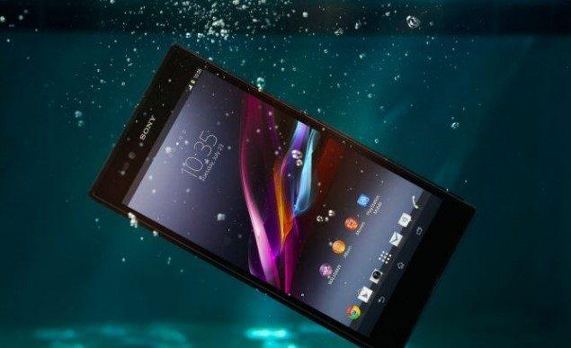 водонепроницаемый Sony Xperia Z Ultra