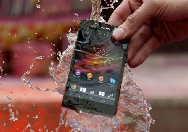 водонепроницаемый Sony Xperia Z
