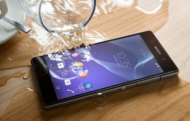 водонепроницаемый Sony Xperia Z2