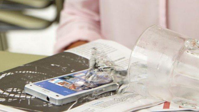 водонепроницаемый Sony Xperia Z3 Compact