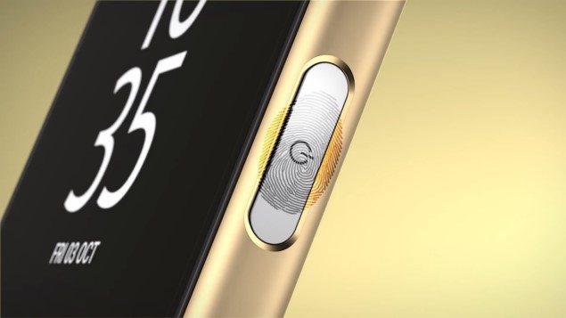 работа сканера Snapdragon Sense ID в Xperia Z5 Compact