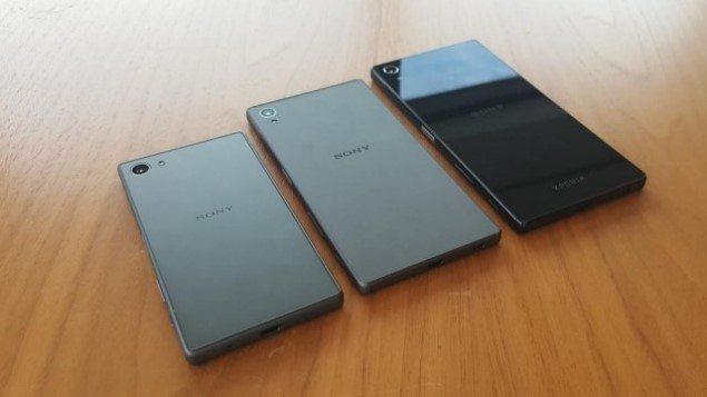живые фото Xperia Z5, Z5 Compact и Z5 Premium