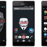 Censored Theme - Xperia тема для Sony Xperia Z5, Z3, Z2, Z1, Compact, M5, С5, M4, Z, ZR, ZL, M2, C3, T2, T3, Ultra
