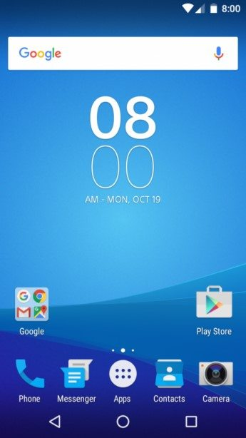 программа Sony Concept for Android: Marshmallow