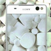 список Sony Xperia получающих Android 6.0 Marshmallow