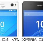 Сравнение Sony Xperia C5 Ultra и Xperia C4 – отличия между моделями