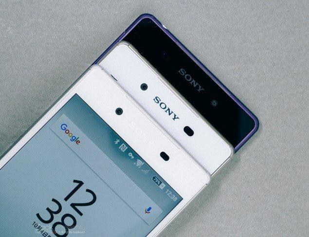 Sony Xperia Z5 vs Xperia Z2 Z3 Z3+