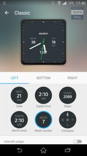 лучшие циферблаты для Sony SmartWatch 3