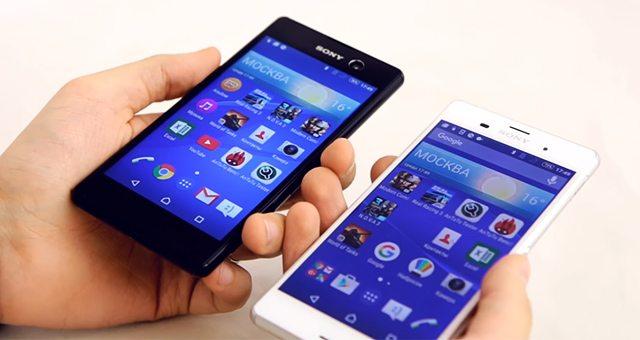 сравниваем Sony Xperia M5 против Sony Xperia Z3