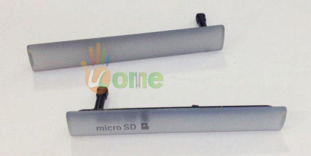 Sony Xperia Z3 Compact резиновые заглушки для слотов