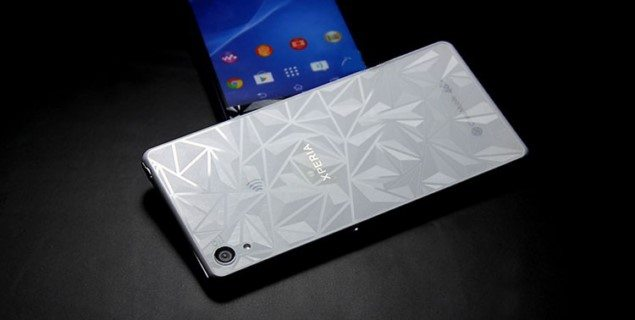 Sony Xperia Z3 плёнка с 3D структурой