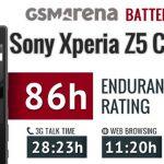 Тест аккумулятора Sony Xperia Z5 Compact