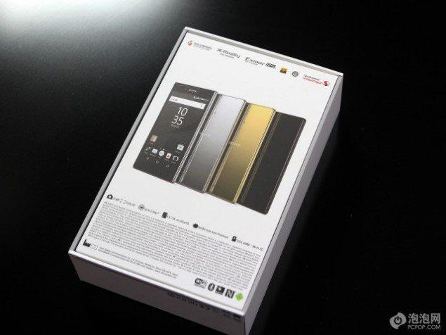 Sony Xperia Z5 Premium распаковка