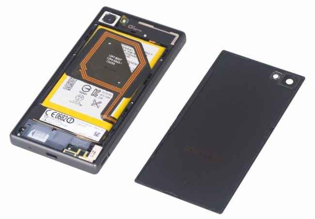 подробная разборка Sony Xperia Z5 Compact - как разобрать смартфона пошагово на фото и видео