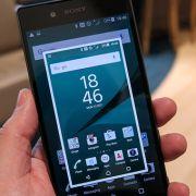 скриншот на Sony Xperia - три способа