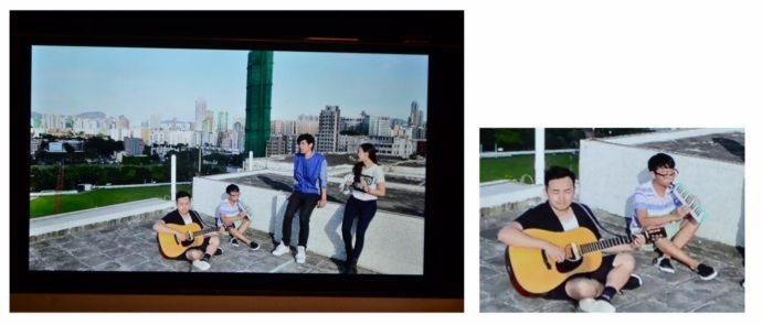 4K-дисплей Xperia Z5 Premium - преобразование контента низкого качества