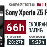 Тест аккумулятора Sony Xperia Z5 Premium – время работы смартфона