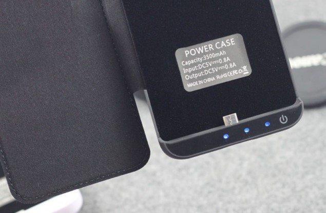 чехол-аккумулятор Sony Xperia Z3+ на 3500 мАч