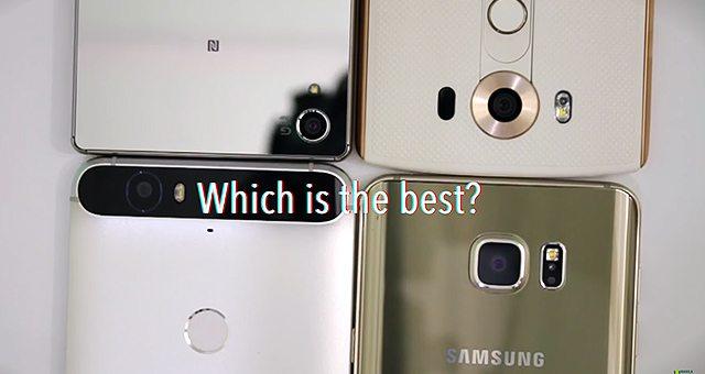 сравнение камеры Sony Xperia Z5 Premium, Samsung Galaxy Note 5, LG V10, Nexus 6P