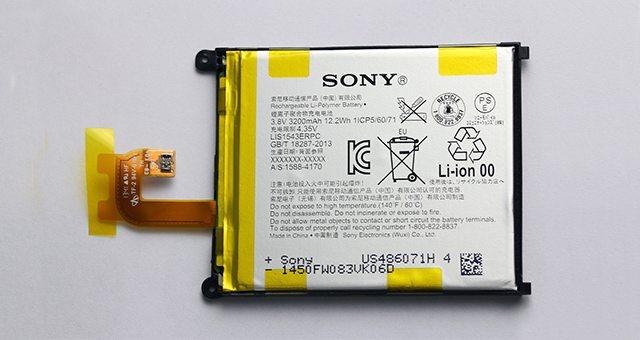 Новые аккумуляторы Sony на 40% лучше Li-Ion