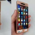 Новая модель Sony Xperia в цвете Rose Gold на фото