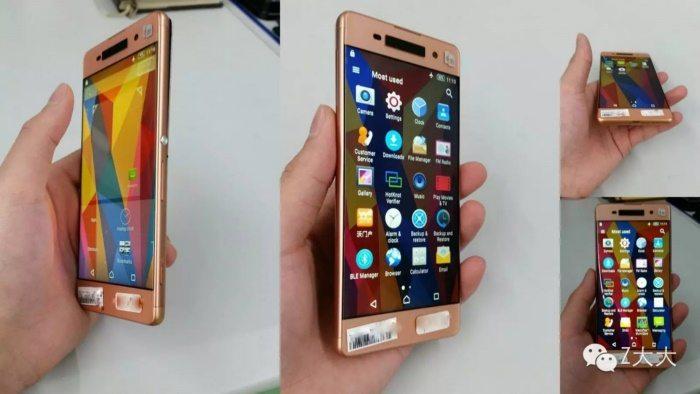 будущий Sony Xperia M6 или C6 в цвете Rose Gold