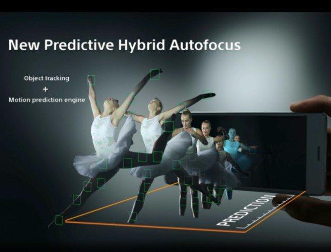 Predictive Hybrid Autofocus - предиктивный умный автофокус в Sony Xperia X Performance