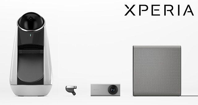 Xperia Ear, Xperia Eye, Xperia Projector, Xperia Agent - новые умные гаджеты