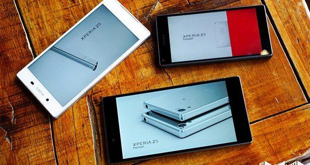 Xperia Z5 Premium, Xperia Z5 и Xperia Z5 Compact лидеры продаж в Японии среди Андроид