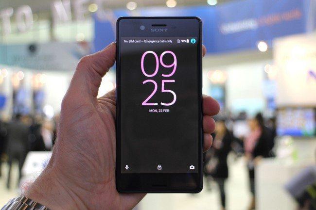 живые фото Sony Xperia X Performance