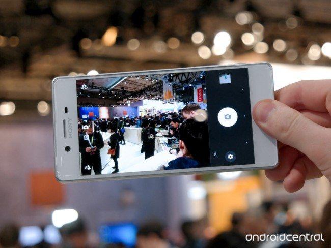 живые фото Sony Xperia X
