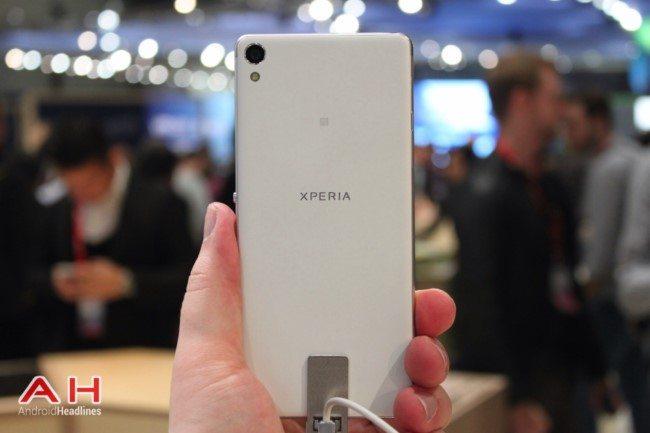 живые фото Sony Xperia XA