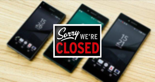 закрыта Sony Xperia Z серия - Xperia Z6 не будет