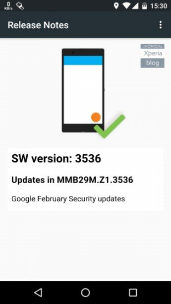 отличные функции Android 6 Marshmallow Concept от Sony