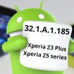 Небольшое обновление Android 6.0 Marshmallow (32.1.A.1.185) на Xperia Z5, Z5 Compact, Z3+