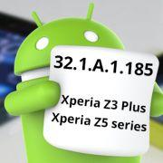 скачать обновление Android 6.0 Marshmallow (32.1.A.1.185) на Sony Xperia Z5, Xperia Z5 Compact, Xperia Z3+