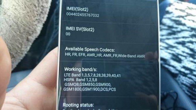 прототип Sony Xperia C6