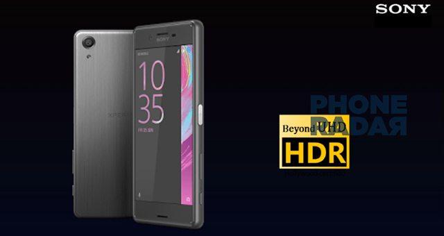 Sony Xperia X Premium HDR-экран Full HD