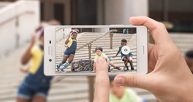 фото и видео камера Sony Xperia X тест