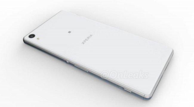 рендеры Sony Xperia C6 Ultra (Xperia XA Ultra)