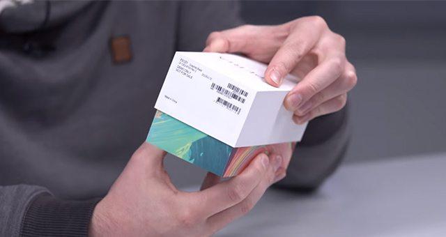 распаковка и дизайн коробки сони иксперия х