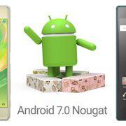 модели Sony Xperia которые обновятся до Android 7.0