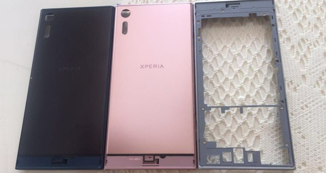 каркас розового Sony Xperia XZ Deep Pink