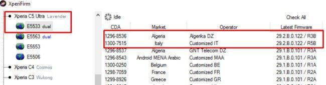 обновление Android 6.0 (29.2.B.0.122)на Sony Xperia C5 Ultra Dual