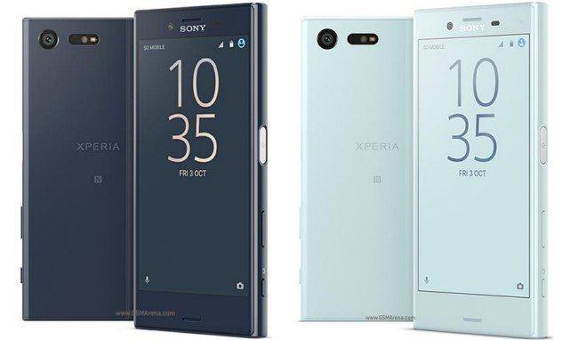 Sony Xperia X Compact дизайн