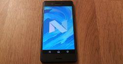 Android 7.0 Nougat для Xperia X Performance - скачать и установить