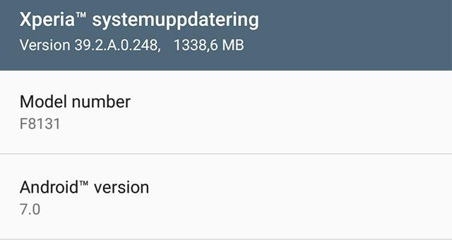 демонстрация работы Android 7.0 Nougat бета на Xperia X Performance