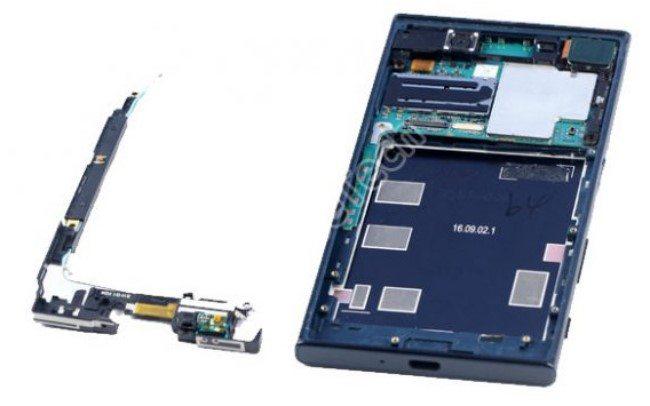 Sony Xperia XZ разобрали